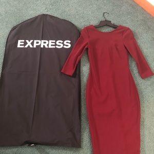 EXPRESS Sheath Midi Dress